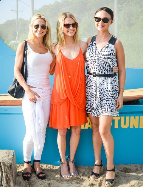 On Saturday June 29th, free play, both off the leash and along the shore, was the pursuit of choice. Amanda Hearst, Georgina Bloomberg, and Kimberly Ovitz hosted beachside cocktails in partnership with The Humane Society of the United States and Amanda Hearst's dedicated charity within that organization, Friends of Finn. Friends of Finn by the Shore, which was open to all, sought to increase awareness of puppy milling and the abuse that grows out of the practice. In the idyllic seaside setting of Montauk's Surf Lodge, guests sipped Les Compagnons wine, went barefoot in the sand, and mastered the art of surfing—well, a version of it, on land, for a photographer who promptly emailed GIFs of the derring-do to anyone who risked their pride for the cameras. All this merriment, in a brief window of glorious weather, helped raise funds for a wonderful cause.