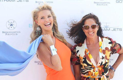 Christie Brinkley and Kelly Klein.