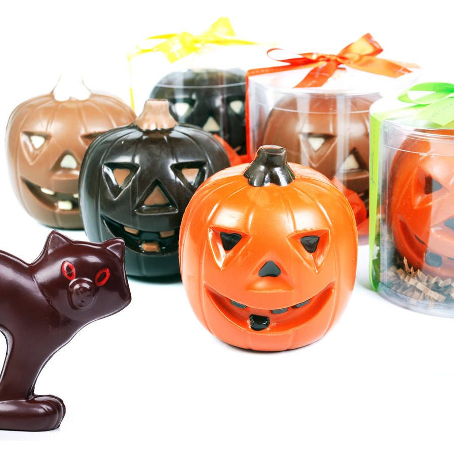 """Torres is known as """"Mr. Chocolate"""" for good reason—he turns the ingredient into works of art that taste as good as they look. We're partial to the pastry chef's hot chocolate, which comes in classic and """"wicked"""" (spicy) versions, but his Halloween treats are nearly as delicious!"""