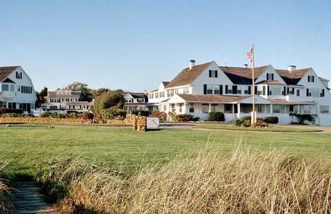 The Kennedy compound in Hyannis Port.