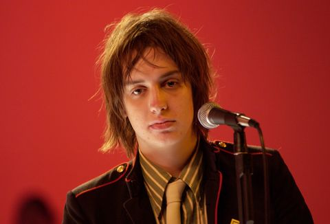 Almost from the time he got out of his high chair, Julian Casablancas has been privy to the rockstar lifestyle: his father, John Casablancas, founded Elite Model Management and traveled from model contest to model contest, and his mother, Jeannette Christiansen, the former Miss Denmark, raised Julian. While Casablancas père dallied with models, like the underage Stephanie Seymour, Julian attended a string of private schools in New York City and Switzerland, meeting his future bandmates and perfecting the hangover growl that worked so well on Is This It.