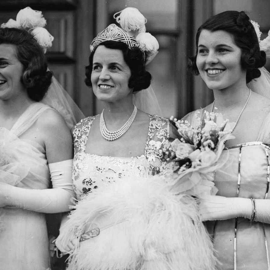 """Rosemary (on the right, with the silver striping), the third of nine children born to Rose and Joseph P. Kennedy, Sr., and their first girl, was, in the upbeat Kennedy turn of phrase, a bit slow. Her sister Eunice, in a groundbreaking 1962 article in the Saturday Evening Post, described her as retarded and went on to found the Special Olympics in her honor. Her father liked to tell people she was off """"teaching retarded children,"""" though she was in fact nearly entirely incapacitated in 1941 as a result of an early frontal lobotomy he had volunteered her to undergo at the age of 23 at the hands of Dr Walter Freedman, the notorious icepick doctor who drove around the country in his """"lobotomobile."""" She wasn't even sedated for it. Although she had previously done long division successfully and been presented to Queen of England, the operation rendered her incontinent and reduced her mental capacity to that of a two year old&#x3B; her family had her committed to St Coletta School for Exceptional Children for the rest of her life. Rose, in her memoir, called Rosemary's fate """"the first of the tragedies that were to befall us."""""""