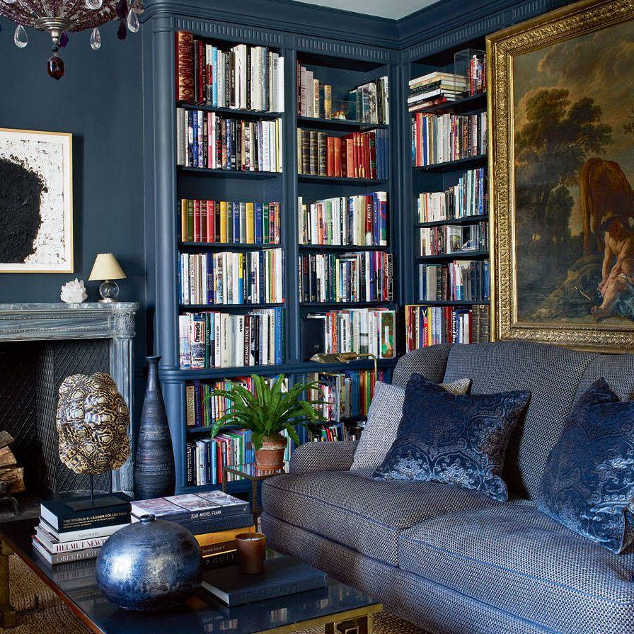Inside Lauder's Upper East Side apartment.