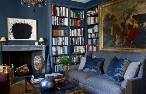 Inside Lauder's Upper East Side apartment.