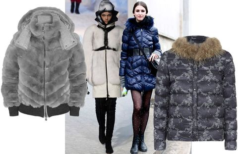 Clothing, Winter, Human, Sleeve, Jacket, Coat, Textile, Standing, Fur clothing, Outerwear,