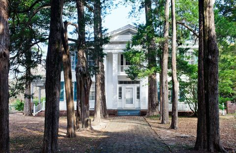 William Faulkner's house, Rowan Oak, was built in 1844 and home to his family for 40 years.
