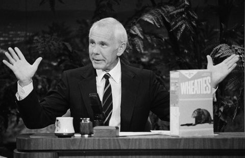 Johnny Carson in 1988