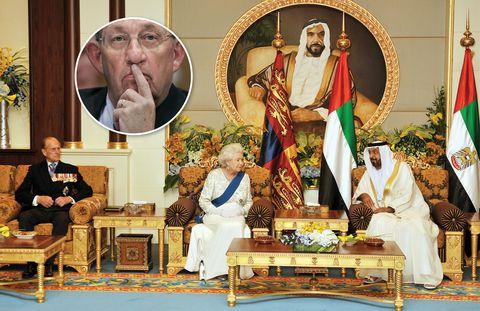 Flag, Temple, Ritual, Coffee table, Tradition, Houseplant, Religious item, Carpet, Religious institute, Living room,