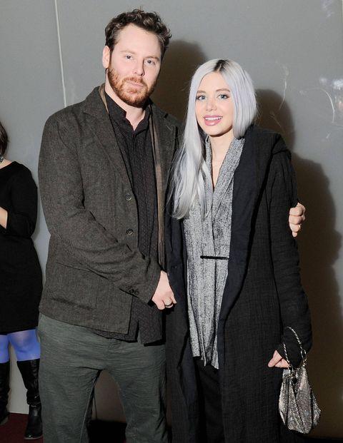Sean Parker and Alexandra Lenas.
