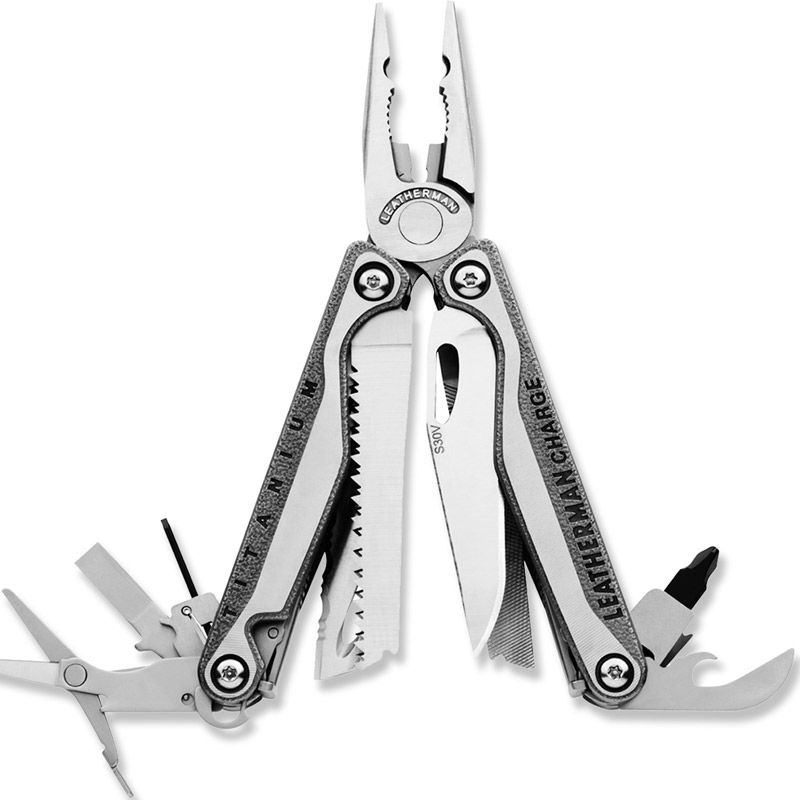 "<p>Leatherman Charge Titanium TTi Multitool, $144.95&#x3B; <a href=""http://www.rei.com/product/744610/leatherman-charge-titanium-tti-multitool"" target=""_blank"">rei.com</a></p>"