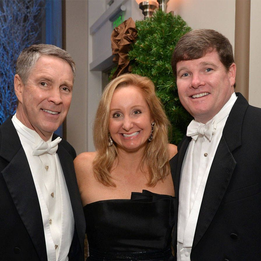 "On Saturday evening Nashville Symphony supporters gathered at the Schermerhorn Symphony Center for the 29th annual Symphony Ball, which raises money for the institution's music and educational programs. Co-chairs Jane Anne Pilkinton and Jennifer Puryear welcomed over 400 guests and attendees included Senator Bill Frist (above, with Mary Lauren and Lawson Allen), Martha Ingram, Judge Gil Merritt, Mr. and Mrs. Robert Patton, along with Kimberly McDonald (2013 Jewelry Partner)and three-time Grammy Award winner and Nashvillian Brad Paisley. In true southern style, guests at the white-tie affair were greeted with champagne and whiskey cocktails.    Each year the Nashville Symphony presents the Harmony Award to an individual who exemplifies the harmonious spirit of Nashville's thriving musical community. This year, Senator Robert Frist presented the award to his ""longtime friend,"" country music legend Brad Paisley. Paisley followed his acceptance speech with a heartfelt performance alongside the Symphony. Guests danced into the wee hours. Since 1985, the Symphony Ball has raised more than $6.5 million."