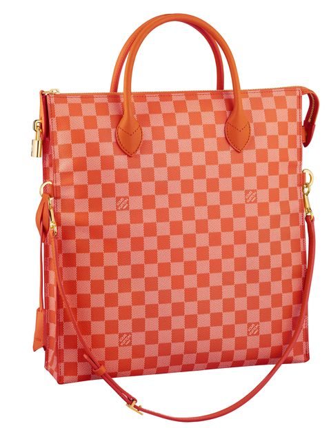 This Louis Vuitton bag is a dream. It looks like a creamsicle and is just the right size for travel (for me that means my iPad mini, Frends headphones, and sour gummy candy!).louisvuitton.com