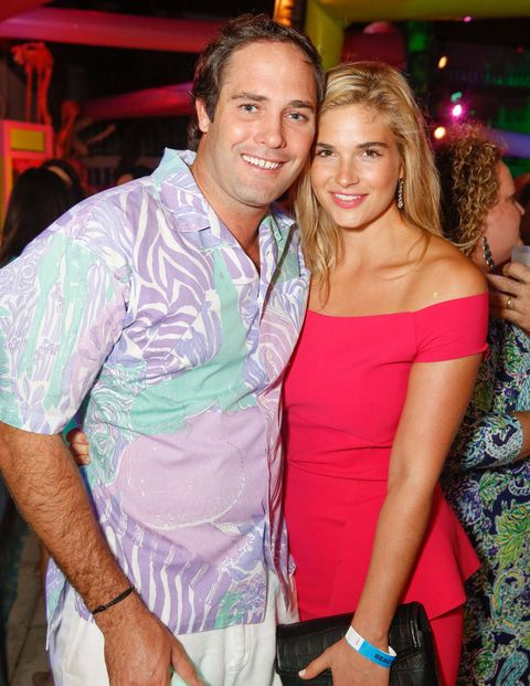 Event Chair Bobby Leidy (Lilly Pulitzer's grandson) and Ivey Day.