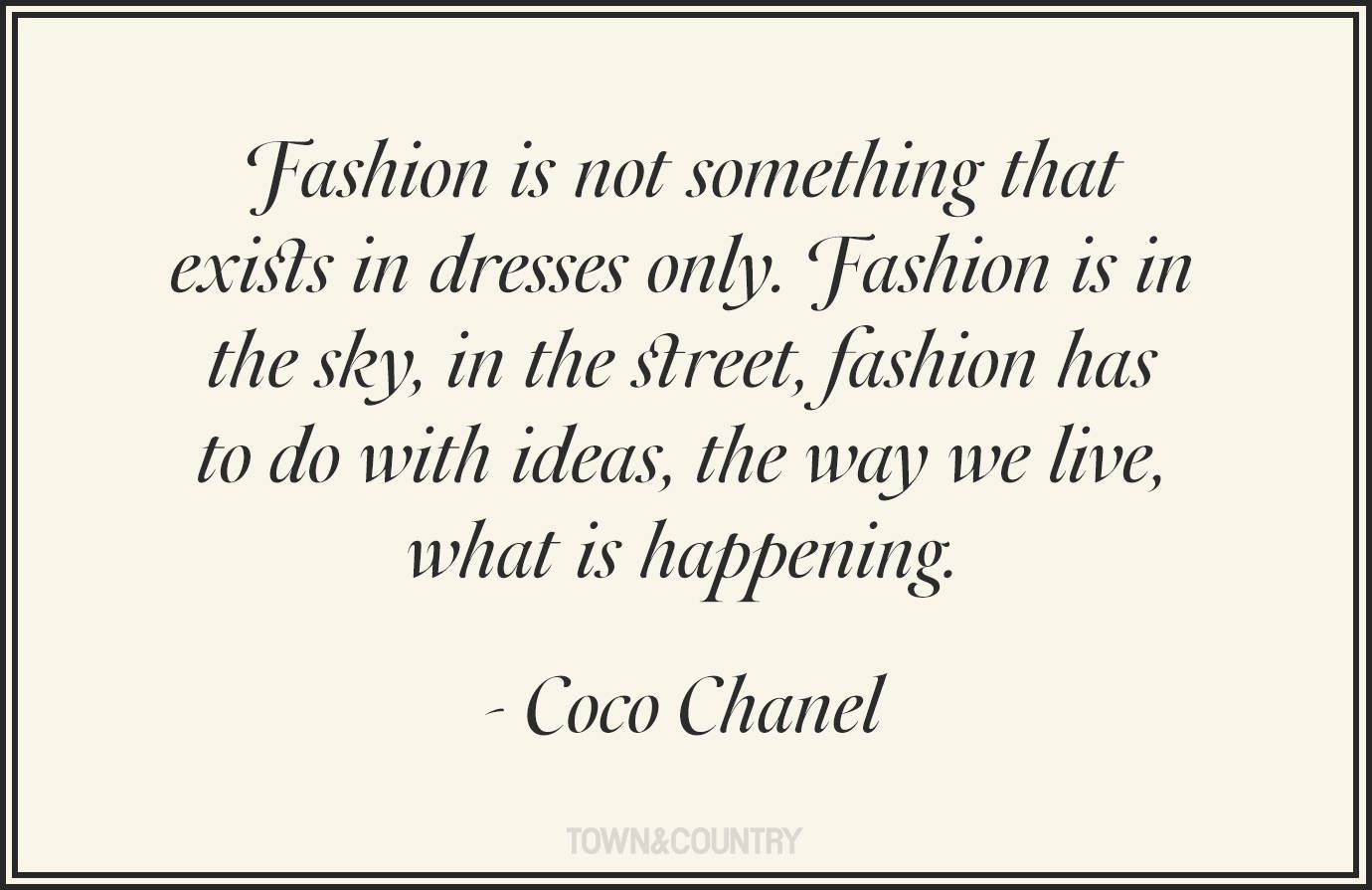 Best Fashion Quotes Famous Style Quotes