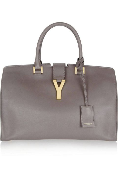 Try the Saint Laurent Ligne Classic, this bag is sleek and means business.Saint Laurent tote, $2,695, net-a-porter.com.