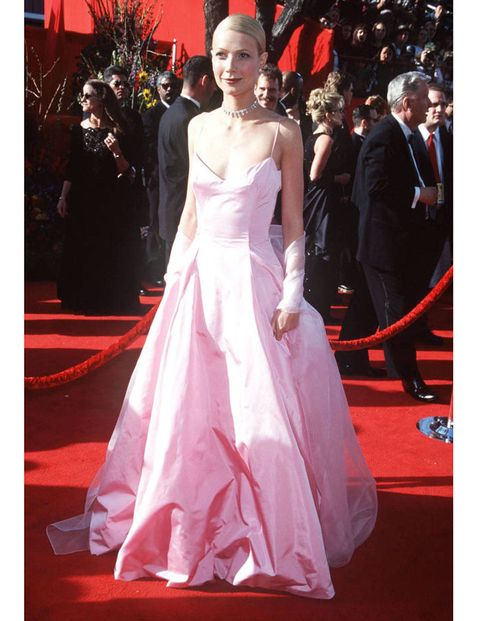 What: Ralph LaurenWhere: Academy Awards in 1999Why: Paltrow cemented her status as a style icon with this referential pretty-in-pink moment.