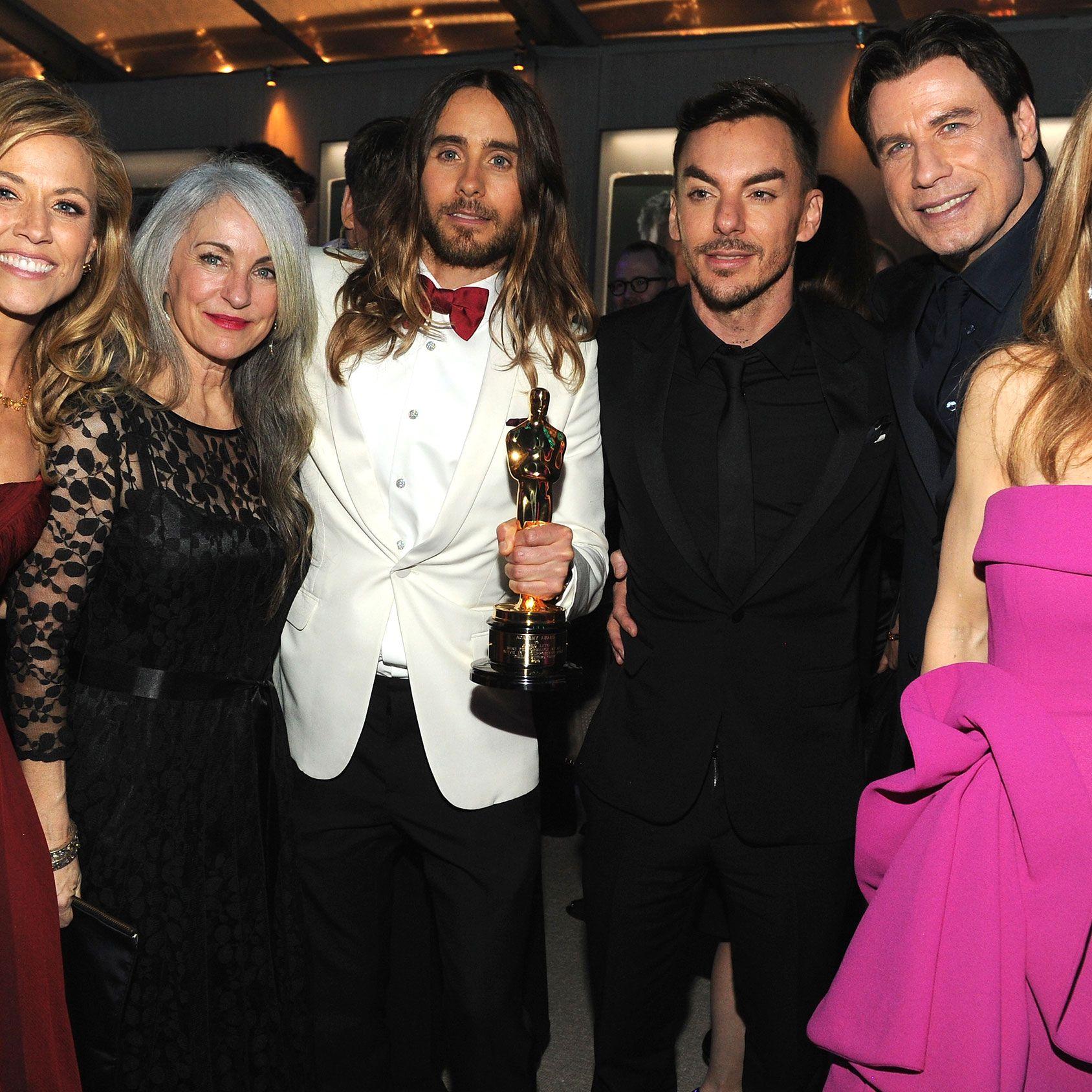 Sheryl Crow, Constance Leto, Jared Leto, John Travolta and Kelly Preston