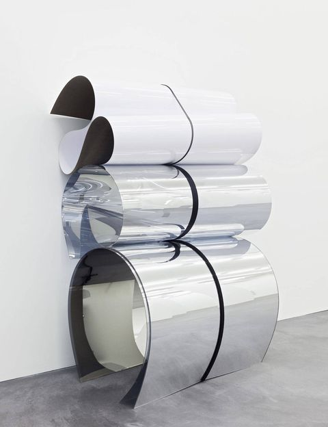 Julia Dault, <em>Untitled 30, 12:00–6:00 PM, August 25, 2013</em>, at the Armory Show.