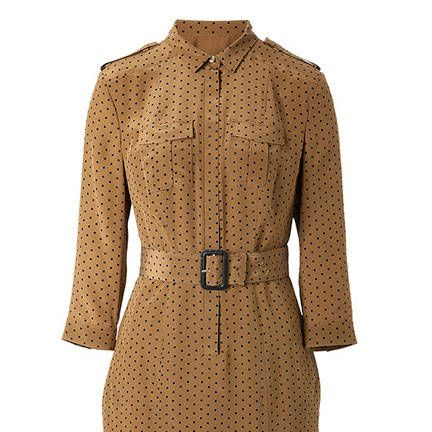 Burberry London Silk Cathleen Shirtdress, $1,1125&#x3B; stylebop.com