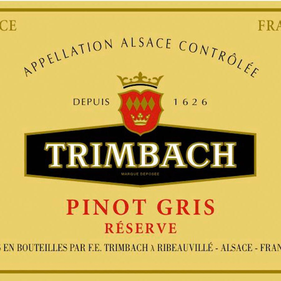 I am a white girl with corned beef and cabbage—that is, I prefer white wines when I order this meal. No residual sugar is needed but a naturally high glycerol grape like Pinot Gris is a solid choice, particularly a bottle from Alsace (where they know a thing or two about cabbage). I especially like the pinot gris from the producers Trimbach (above) and Weinbach.If I had to be a red girl, I would do a Lagrein from Alto Adige in Italy. It's a high- acid wine and fabulous with salty, smokey flavors. I love the ones made by Elena Walch.