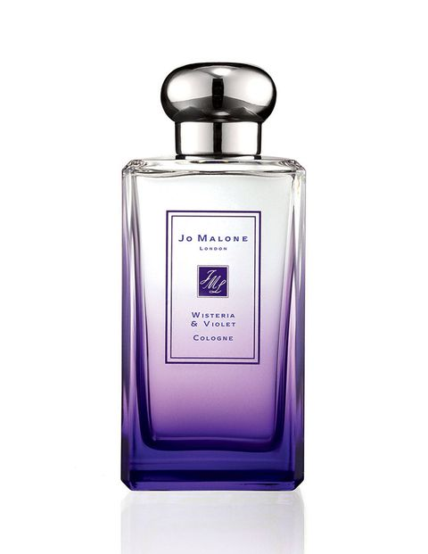 A moody floral mix of violet and water lily—this is our pick for rainy days.jomalone.com