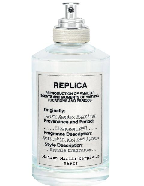 "Part of the second collection of Margiela's ""Replica"" fragrances, which aim to reproduce a specific time and place, this eau contains hints of pear, iris, and white musk to depict a lazy sunday in Florence in 2003.sephora.com"