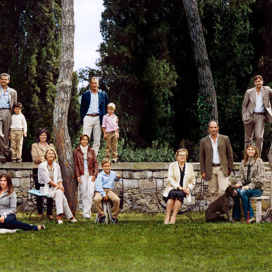 The late Salvatore Ferragamo produced not only groundbreaking footwear but a healthy roster of successors to secure his legacy. After his death, in 1960, his widow Wanda and their six children went into the family business&#x3B; currently son Ferruccio is chairman while Massimo handles U.S. operations, and Ferruccio's son James oversees women's leather design. The international business expanded further after a 2011 IPO that valued the company at $2.1 billion. Meanwhile, the rest of the family ensures that the Ferragamo name reaches far beyond fashion, with a museum, a philanthropic foundation (run by Wanda), and a collection of hotels. (The newest, Portrait Firenze, opens this month in Florence.) James's twin, Salvatore, runs Il Borro, the Ferragamos' ancient Tuscan estate with a boutique hotel, a family home, and land that produces olive oil, honey, and award-winning wines.Generations of Ferragamos, at Castiglion del Bosco, one of their Tuscan resorts, 2007.