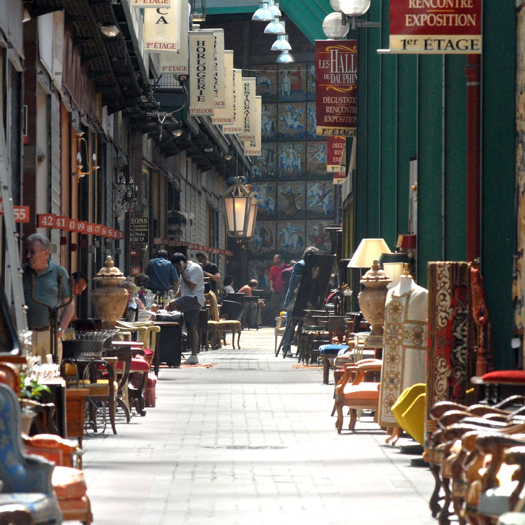 """""""Le Marché aux Puces in Paris is a must. It is not always as exciting as years past, but I never go away empty handed. Head straight to the Paul Bert section for Midcentury and trendier antiques. Many of the stalls are done up with great style."""""""