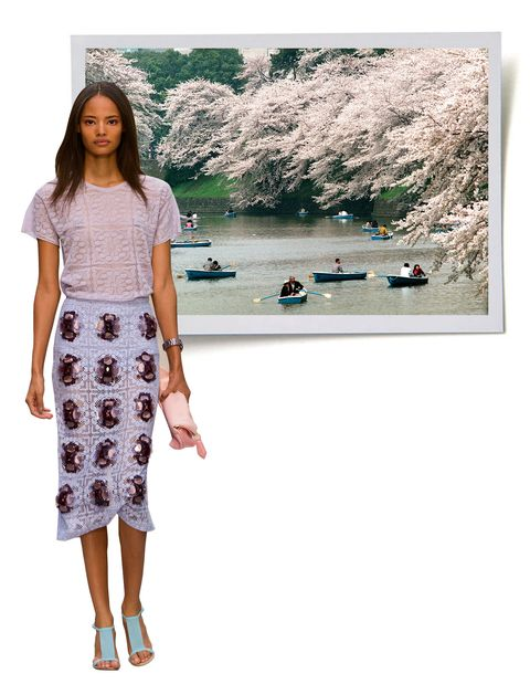 "<p>Burberry Prorsum Spring/Summer '14 tee, skirt & clutch, <em><a href=""http://burberry.com"">burberry.com</a></em></p>"
