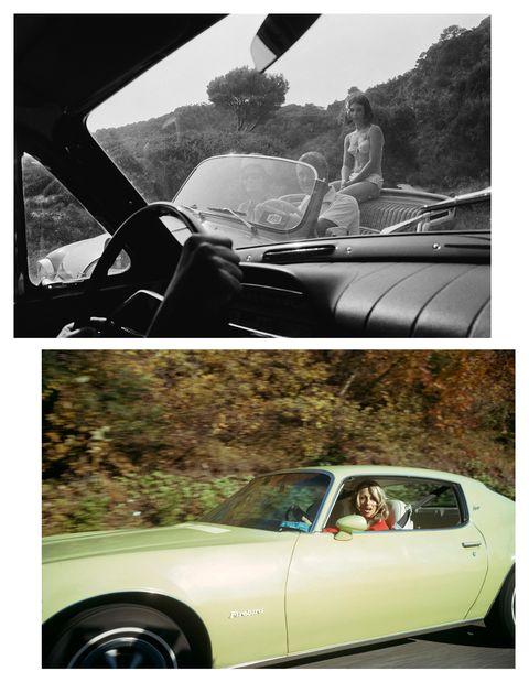 Motor vehicle, Mode of transport, Automotive design, Vehicle, Photograph, Car, Automotive mirror, Vehicle door, Classic car, Fender,