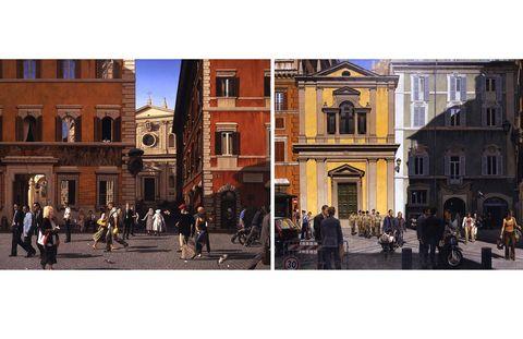 Facade, City, Public space, Town, Landmark, Tourism, Town square, Pedestrian, Urban design, Mixed-use,