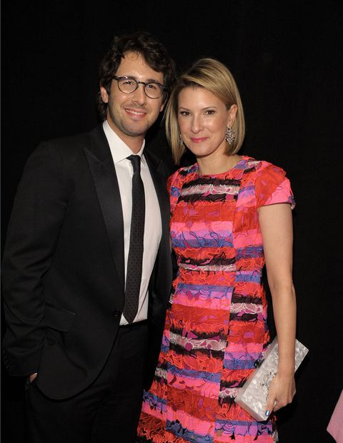Josh Groban and Lizzie Tisch.