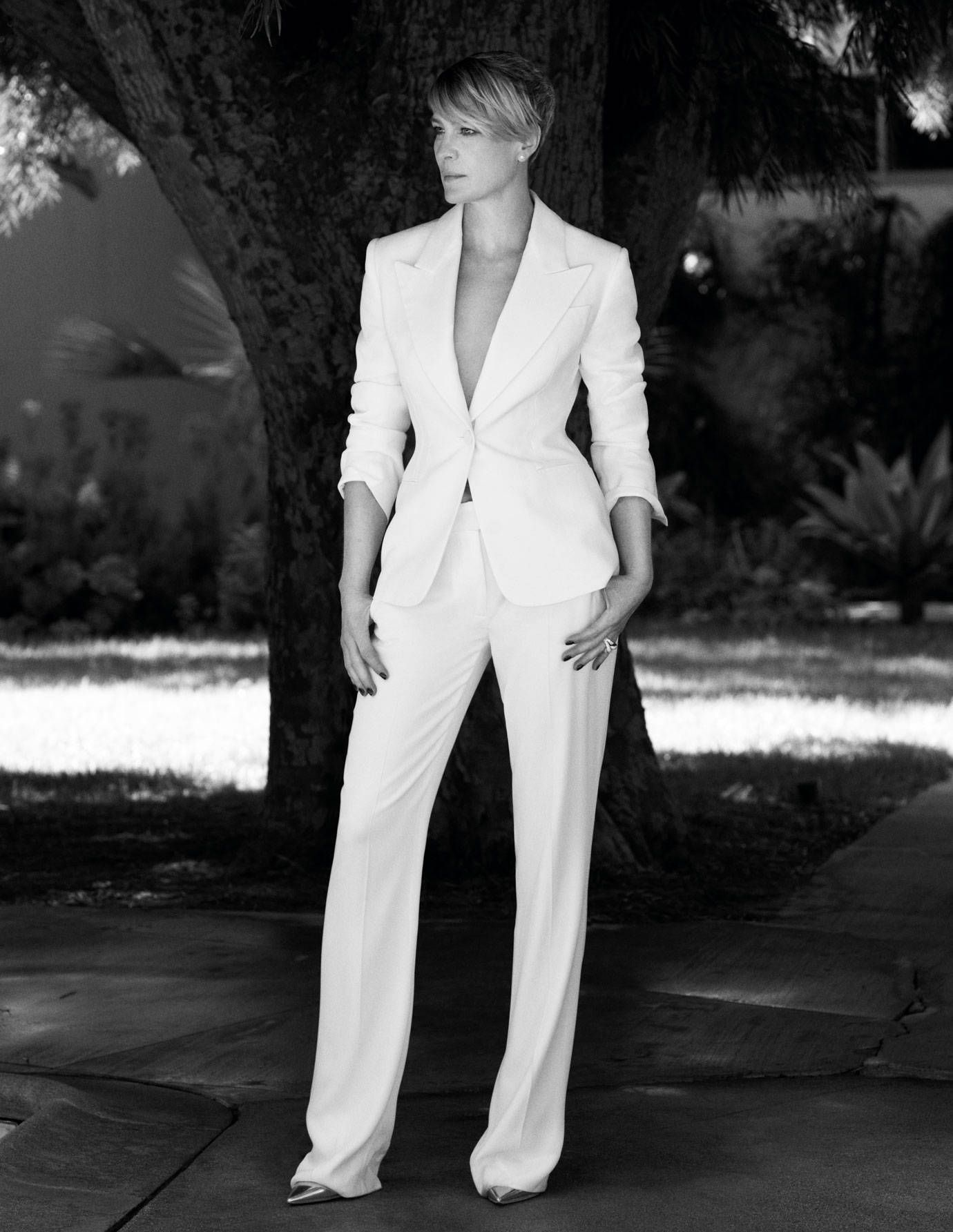 Robin Wright Talks Family And House Of Cards