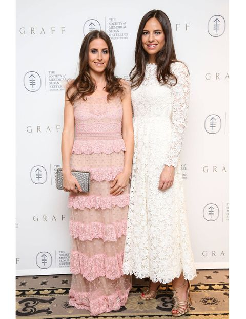 Alexi Ashe and Ariel Ashe both wearing Valentino.