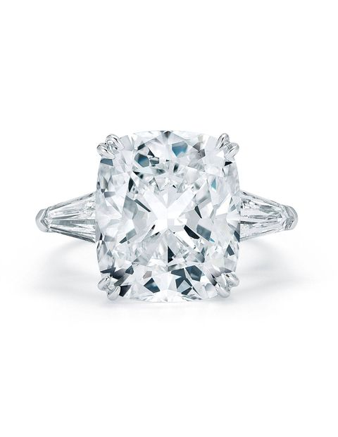 Kwiat ten carat diamond ring
