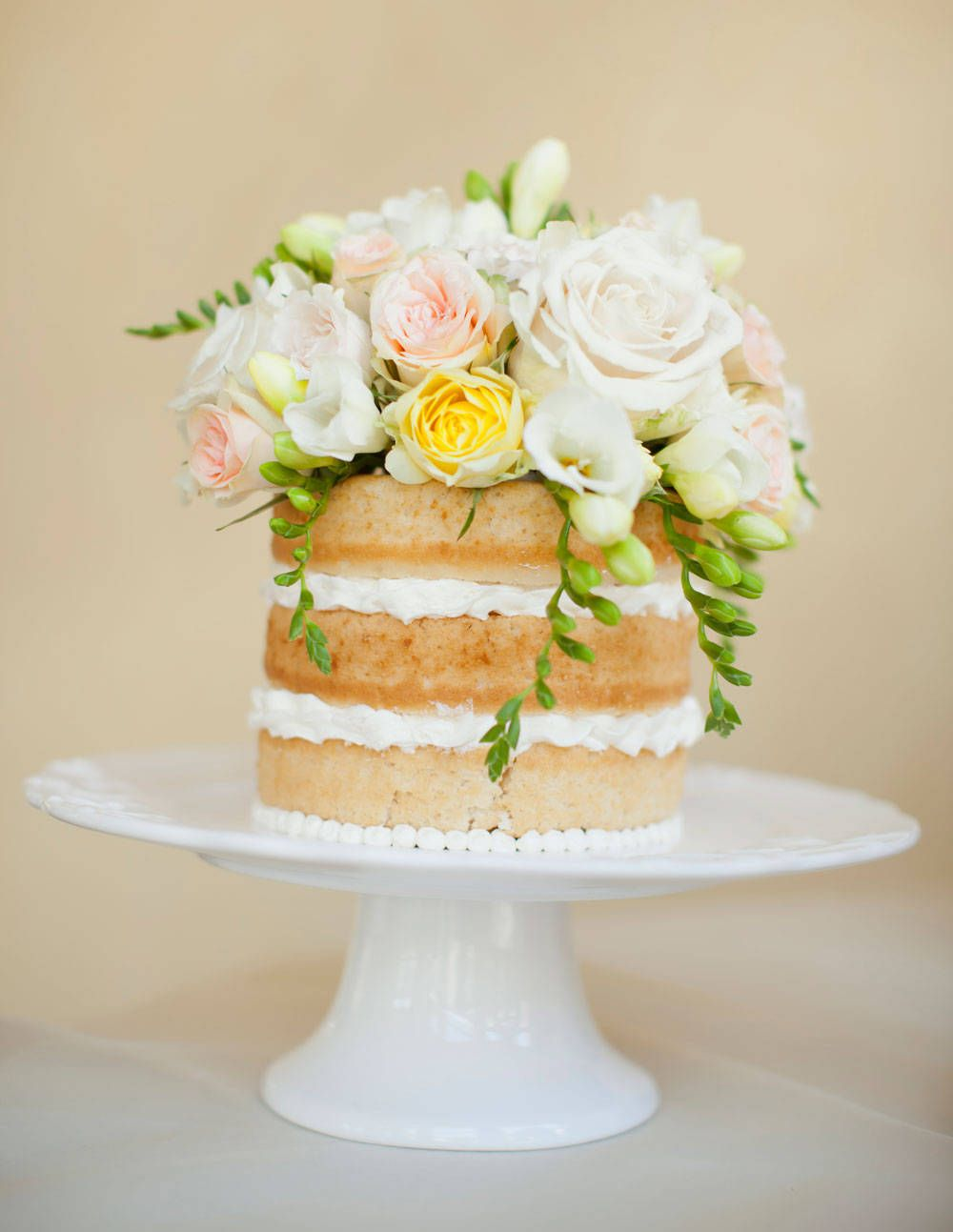 Wedding Cakes Without Fondant - Wedding Cakes Without Frosting