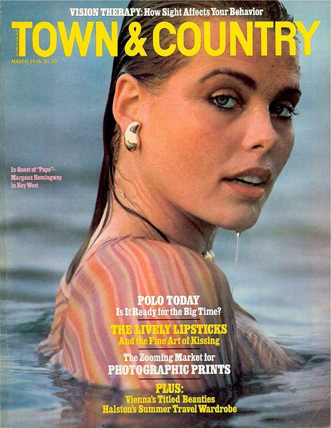 Margaux Hemingway, a T&C classic.