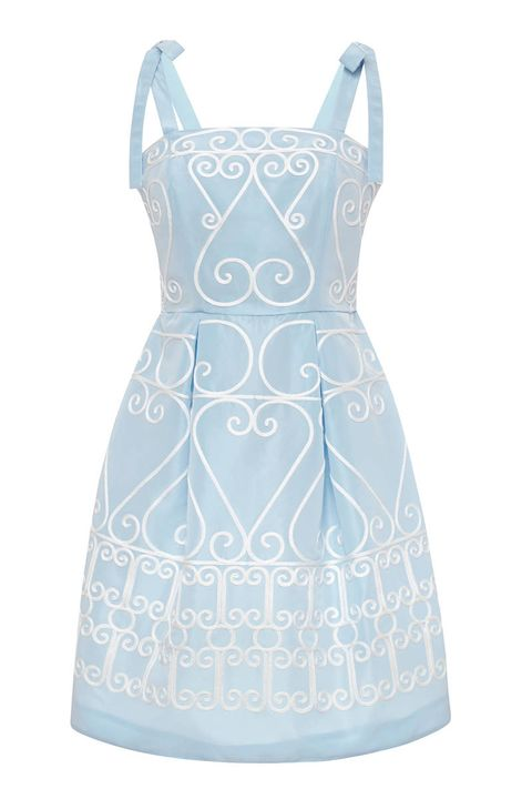Vivetta Jasmina Embroidered Taffeta Dress, $525&#x3B; modaoperandi.com