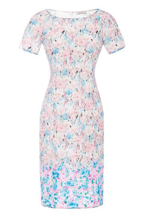 Nina Ricci Floral-Print Lace Dress, $900; modaoperandi.com