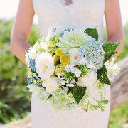 Petal, Yellow, Bouquet, Flower, Dress, Photograph, People in nature, Cut flowers, Wedding dress, Flowering plant,