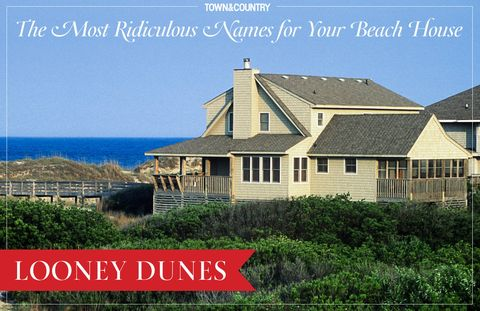 Most Ridiculous Names For Your Beach House - Best Beach