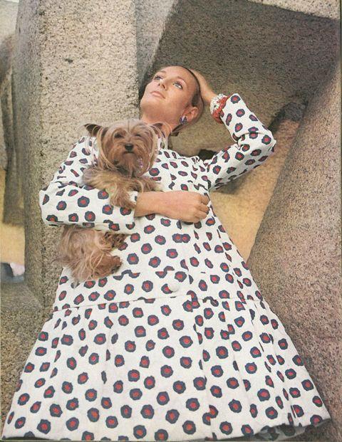 <p>Texan Deborah Wood Dixon and her inseparable Yorkie.</p>