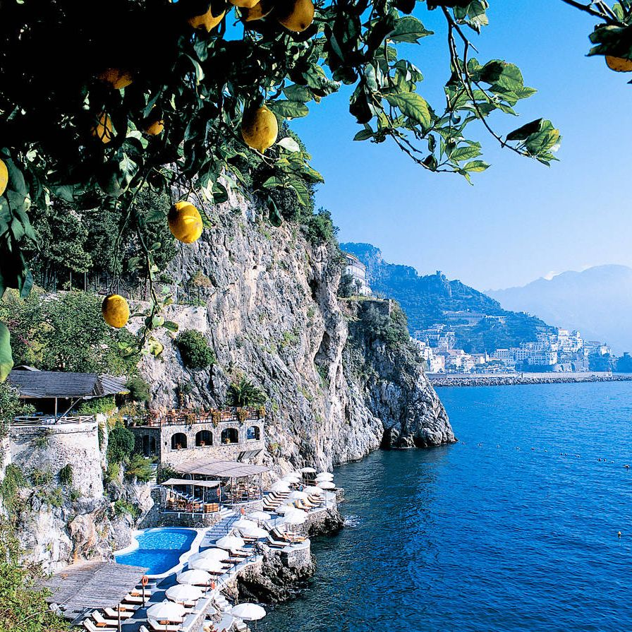 A CITRUS MASSAGEHotel Santa Caterina is best known as a romantic hideaway for the impossibly famous—Liz and Richard, Angelina and Brad among them—but it should also find its way onto the map for its signature massage. The Amalfi Gold (a.k.a. the Lemon Massage) is a light-pressure, full-body treatment using a special lotion made with oil extracted from lemons grown on-site. The fruits—big, curvy beauties—are also sliced and placed on the chakras. The result: citrus-induced euphoria, best followed with a glass of limoncello, the locally favored digestivo. Amalfi Gold, $165, hotelsantacaterina.it