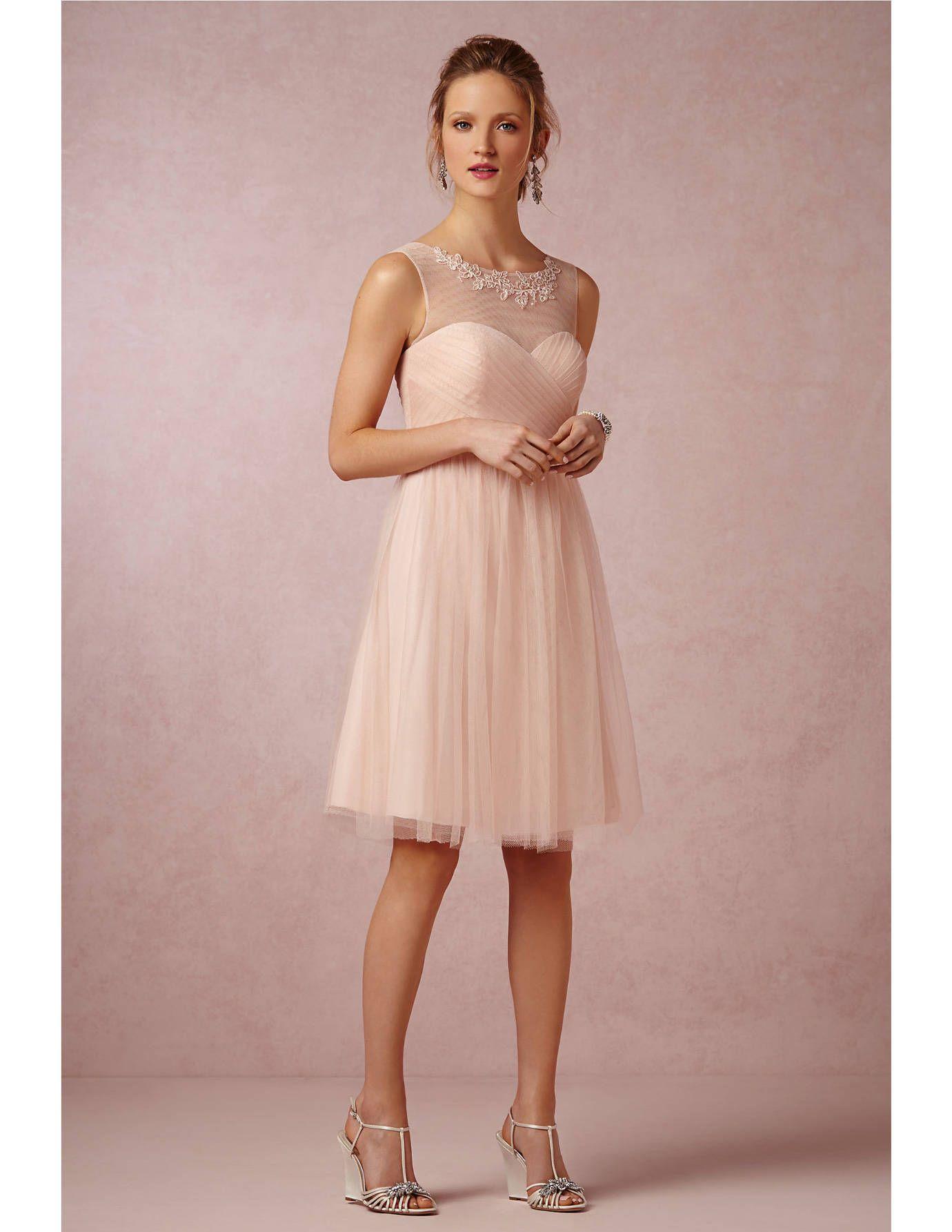 Best Neutral Colored Bridesmaid Dresses - Best Pale Pink Bridesmaid ...