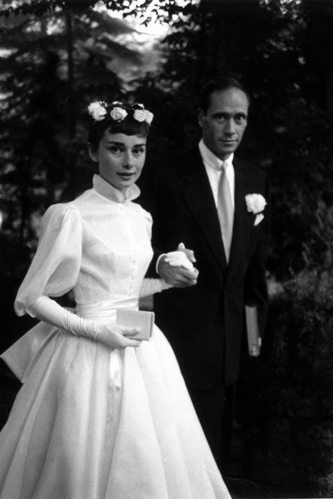 Audrey Hepburn in Balmain, 1954