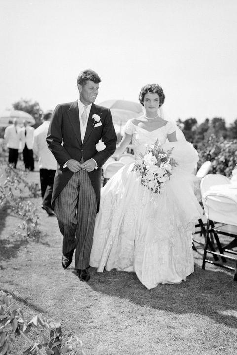 Jacqueline Kennedy in Ann Lowe, 1953