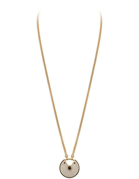 Cartier necklace, cartier.com.