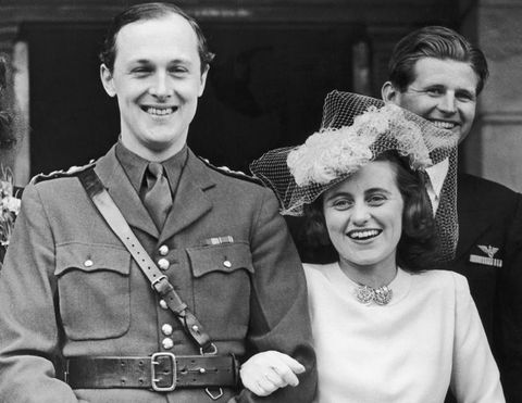 May 6, 1944: Kathleen Agnes Kennedy With William Cavendish, Marquess Of Hartington.