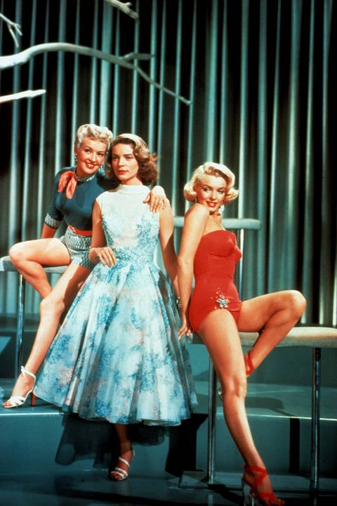 <i>How To Marry a Millionaire</i>, Lauren Bacall, Marilyn Monroe 1953