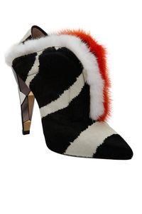 "<p>Fendi Fur-Trimmed, Calf-Hair Shoe Boot, $1,700&#x3B; <a href=""http://www.barneys.com/on/demandware.store/Sites-BNY-Site/default/Product-Show?pid=502886344&cgid=W_EVENING_SHOES&index=7"" target=""_blank"">barneys.com</a></p>"